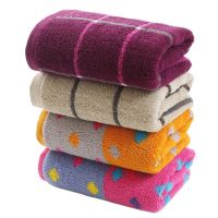 Gentle Meow Set of 4 European Hand Cotton Bath Towels Washcloth Family Towels Set 75*34cm