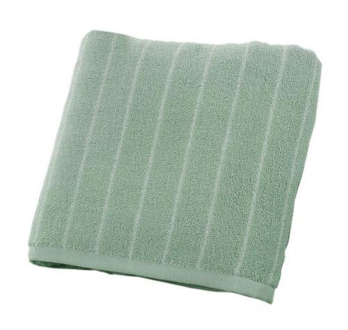 Gentle Meow Stripes Beach Towels Family Bath Towels Spa/Hotel/Sports Towel 130*73cm Green