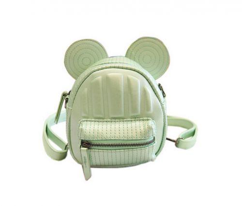 Retro Green Ear Toddler Backpack Kindergarten Bag Travel Kids Backpacks Purse