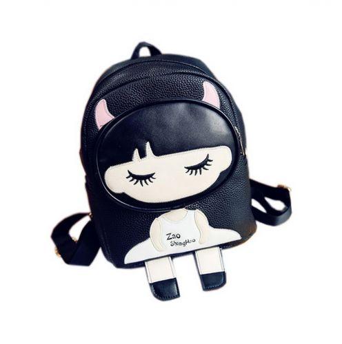 Kids School Bag Toddler Backpack Cute Girl Camping Travel Backpacks Purse Black