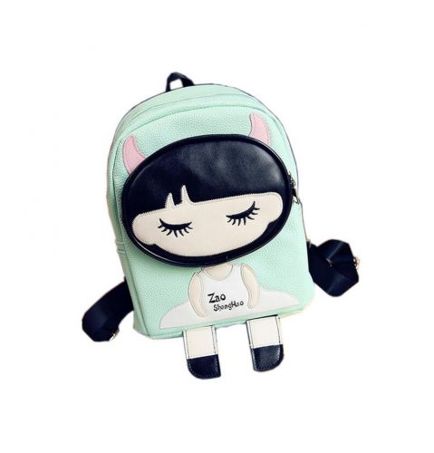 Kids School Bag Toddler Backpack Cute Girl Camping Travel Backpacks Purse Green
