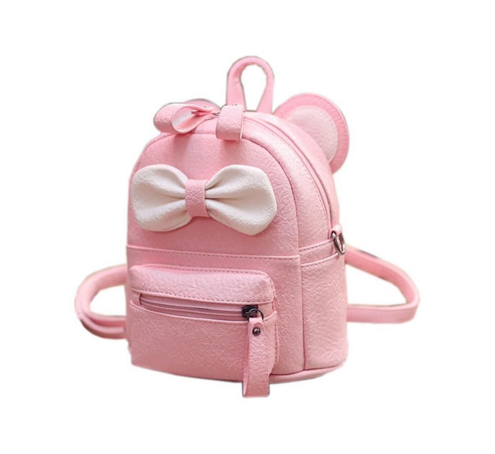 4122cbf98428 Cute Toddler Backpack Kindergarten Bag Travel Kids Backpacks Purse Bowknot  Pink. ×. Click to enlarge ...