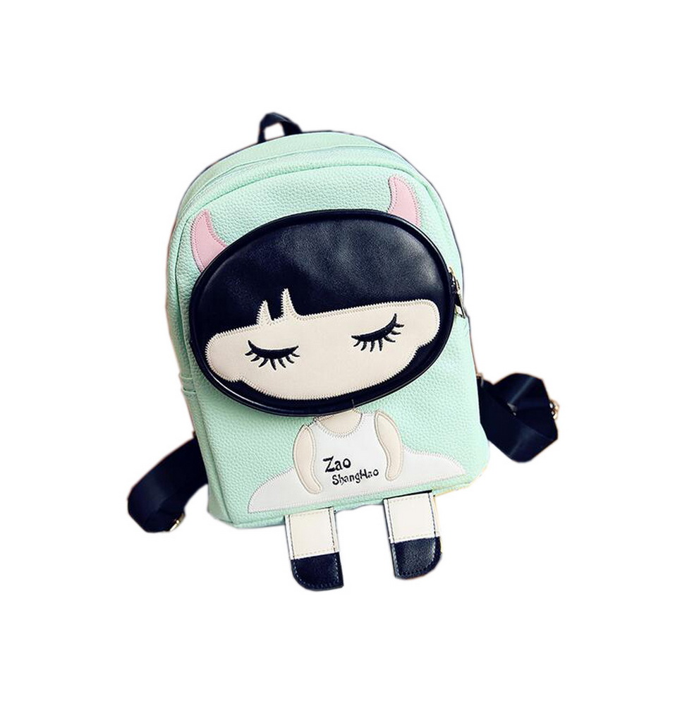 fbeec81584 ... Toddler Backpack Cute Girl Camping Travel Backpacks Purse Green. ×.  Click to enlarge ...