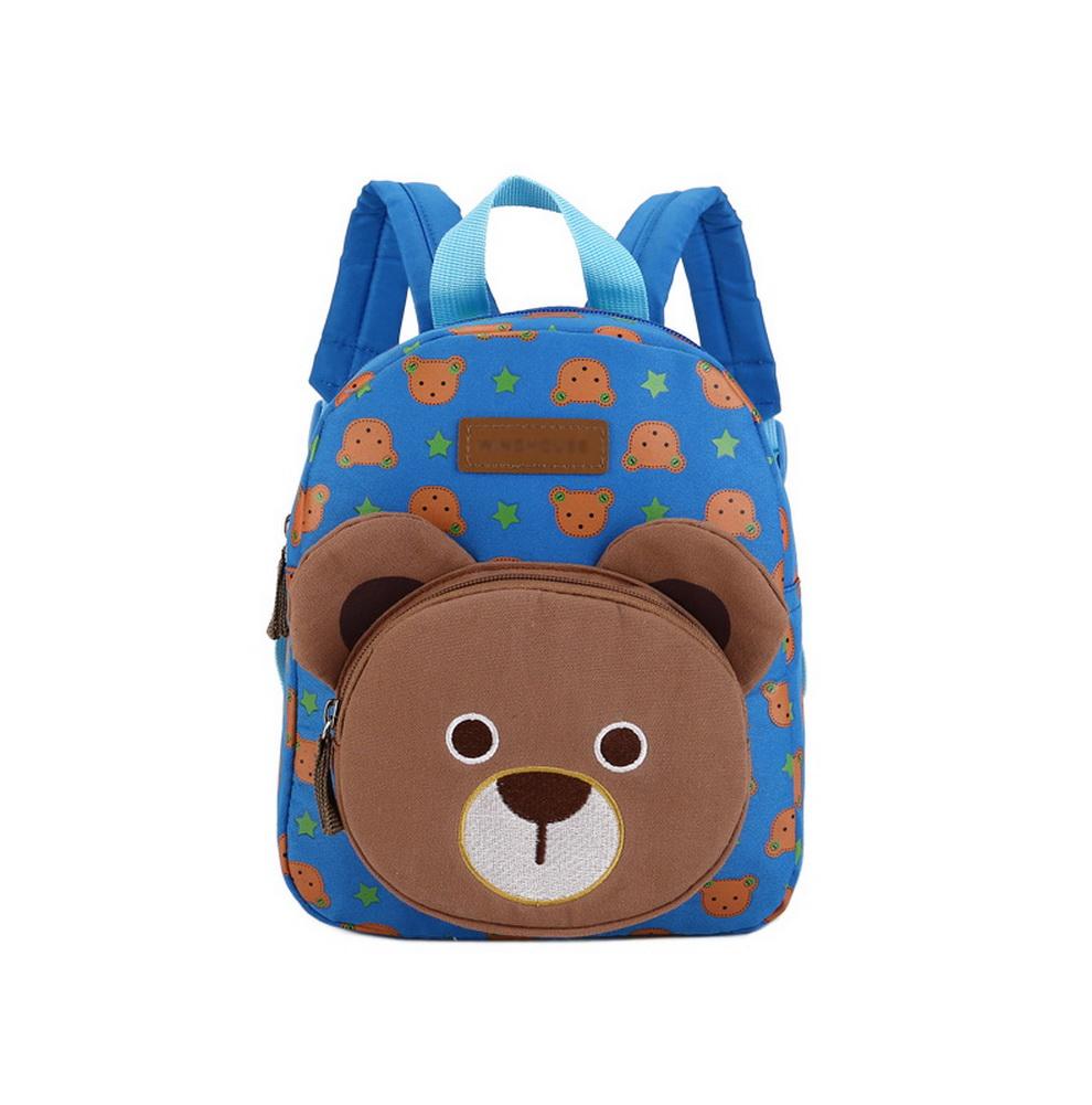 Cute Bear Kids School Bag Toddler Backpack Camping Travel